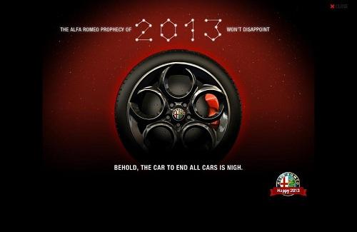 Alfa Romeo 4C teaser image