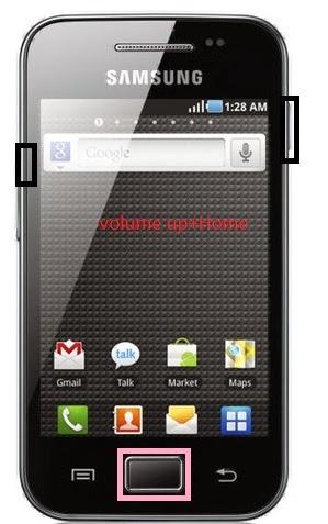 Hard Reset Samsung Glaxy Ace S5830