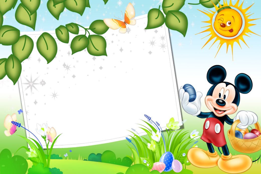 Marcos png de mickey mouse para ni os marcos gratis for Guarderia tu jardin