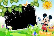 Marcos Png de Mickey Mouse para Niños. mickey