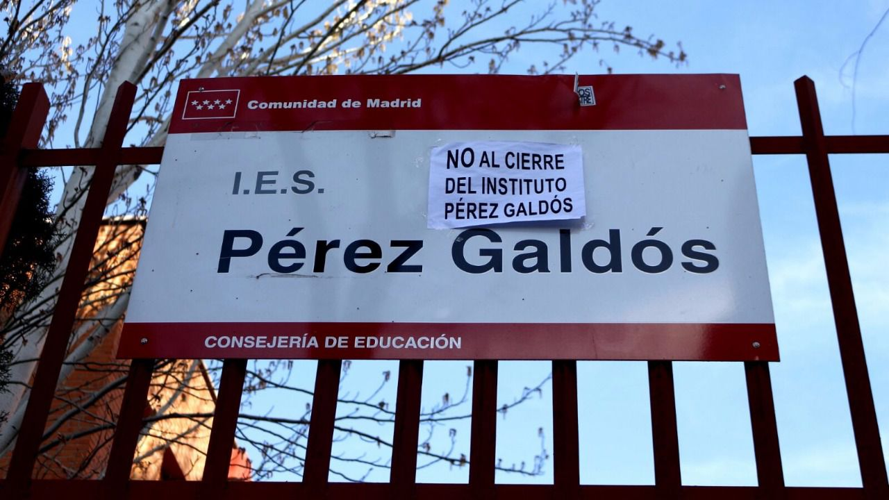22 de junio Se cerró el IES Pérez Galdós