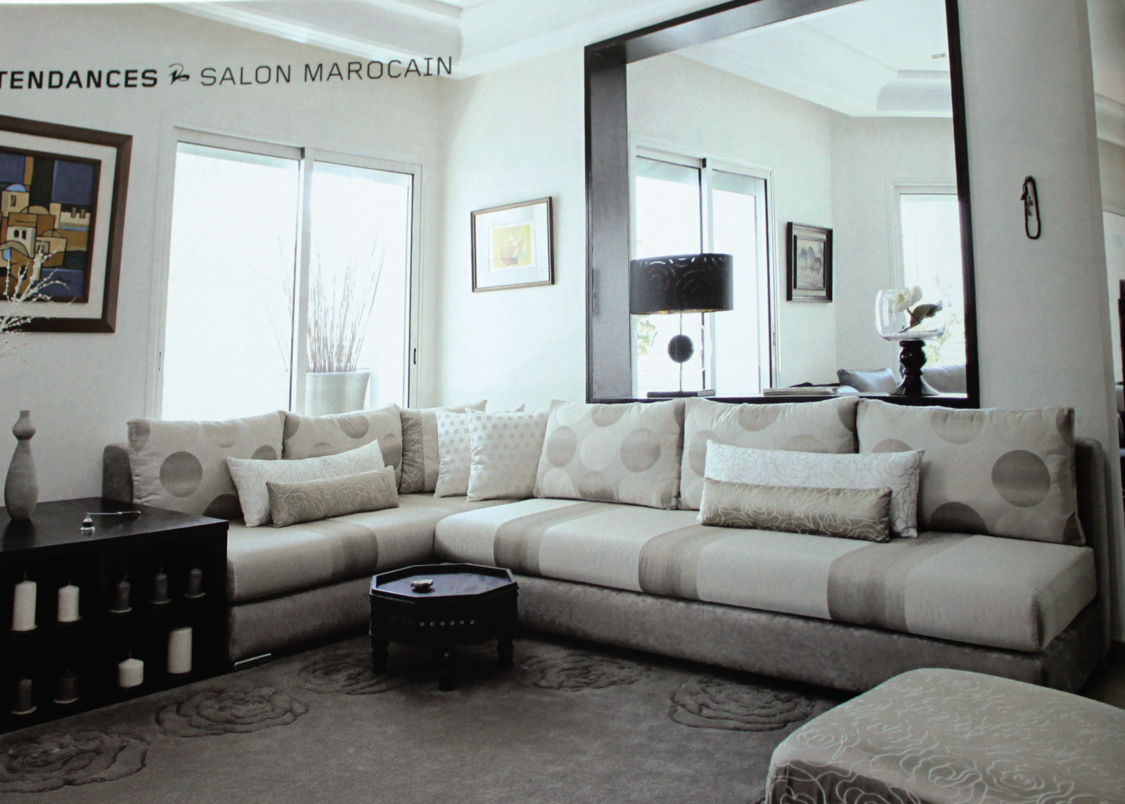 Cherry pie the salon marocain - Salon moderne ...