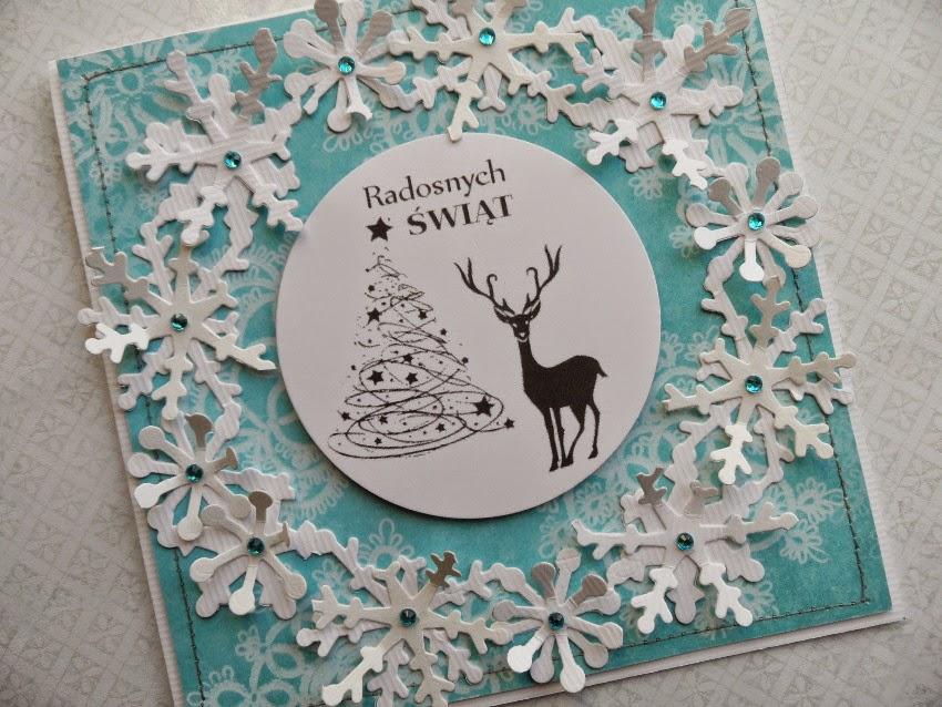 kartki handmade Boże Narodzenie