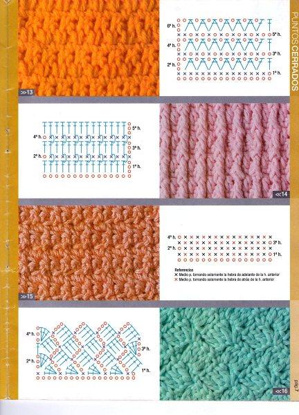 Favorito SOLO PUNTOS: crochet puntos tupidos LA04