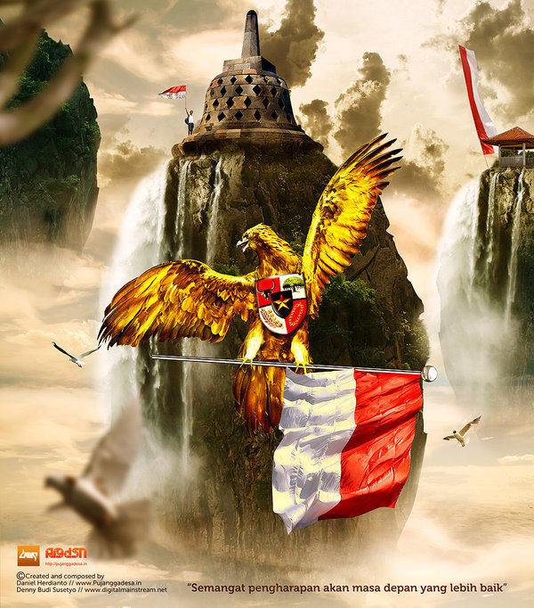 Hell Angel: Wallpaper kren.Burung Garuda Indonesia