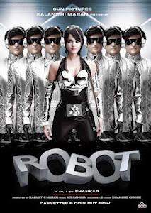 Robot Hủy Diệt - Endhiran Robot poster