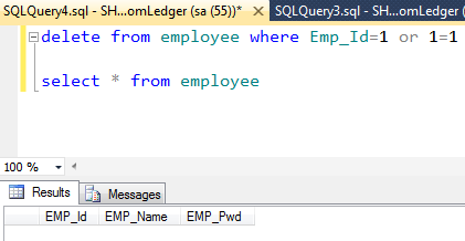 Learn c asp net mvc wcf sql angular js sql injection - Sql injection drop table example ...