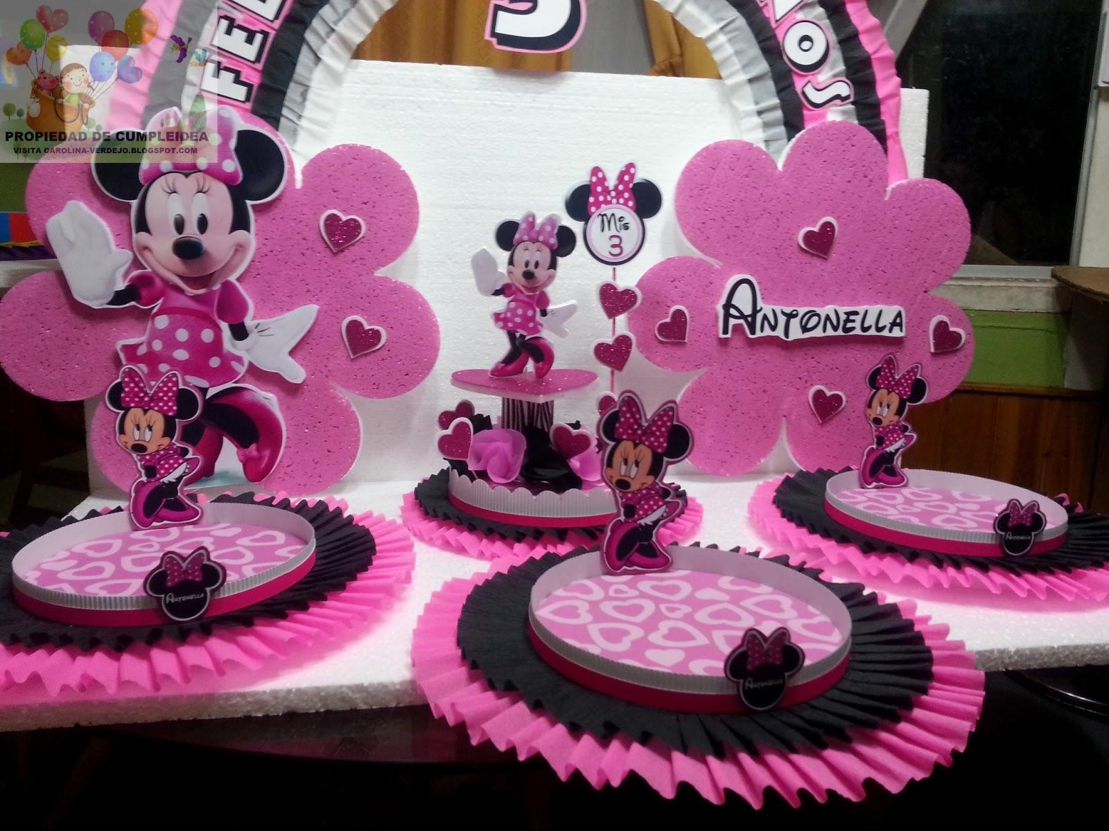 Minnie Decoraciones Fiestas Infantiles ~ DECORACIONES INFANTILES