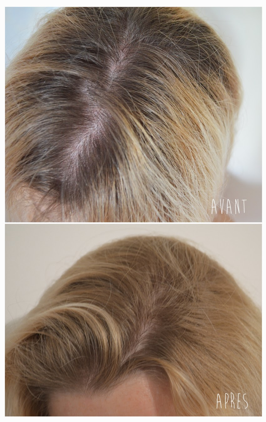 aprs je ne pense pas avoir trouv le truc mais il faut avouer que cest une technique facile daccs reproduire pour un rsultat finalement - Gele Claircissante Garnier Sur Cheveux Colors