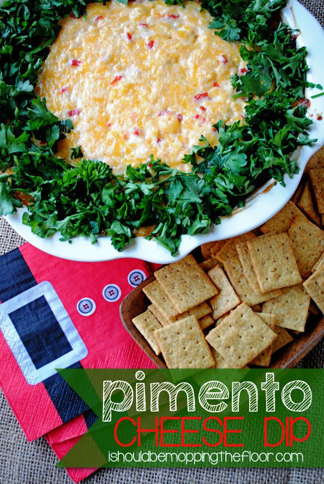 Pimento Cheese Dip | A simple but yummy dip...perfect for holiday ...