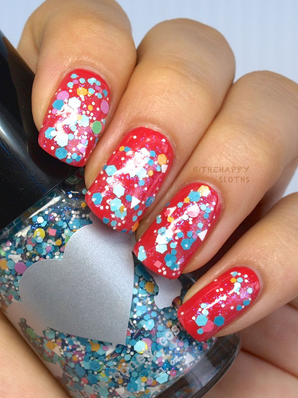 Rainbow Honey Nail Polish Summer Mixtape Collection in Elevate Review and Swatches