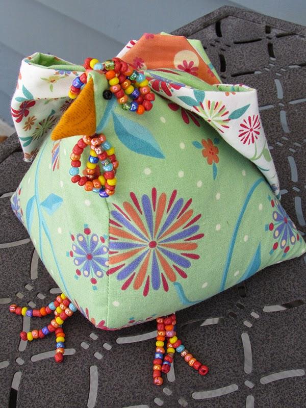 whimsical pin cushion