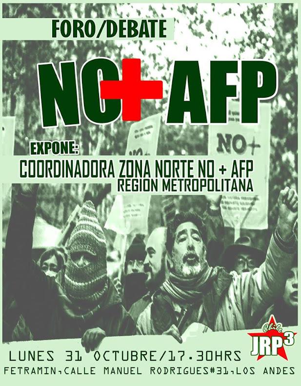 LOS ANDES: FORO DEBATE NO+AFP
