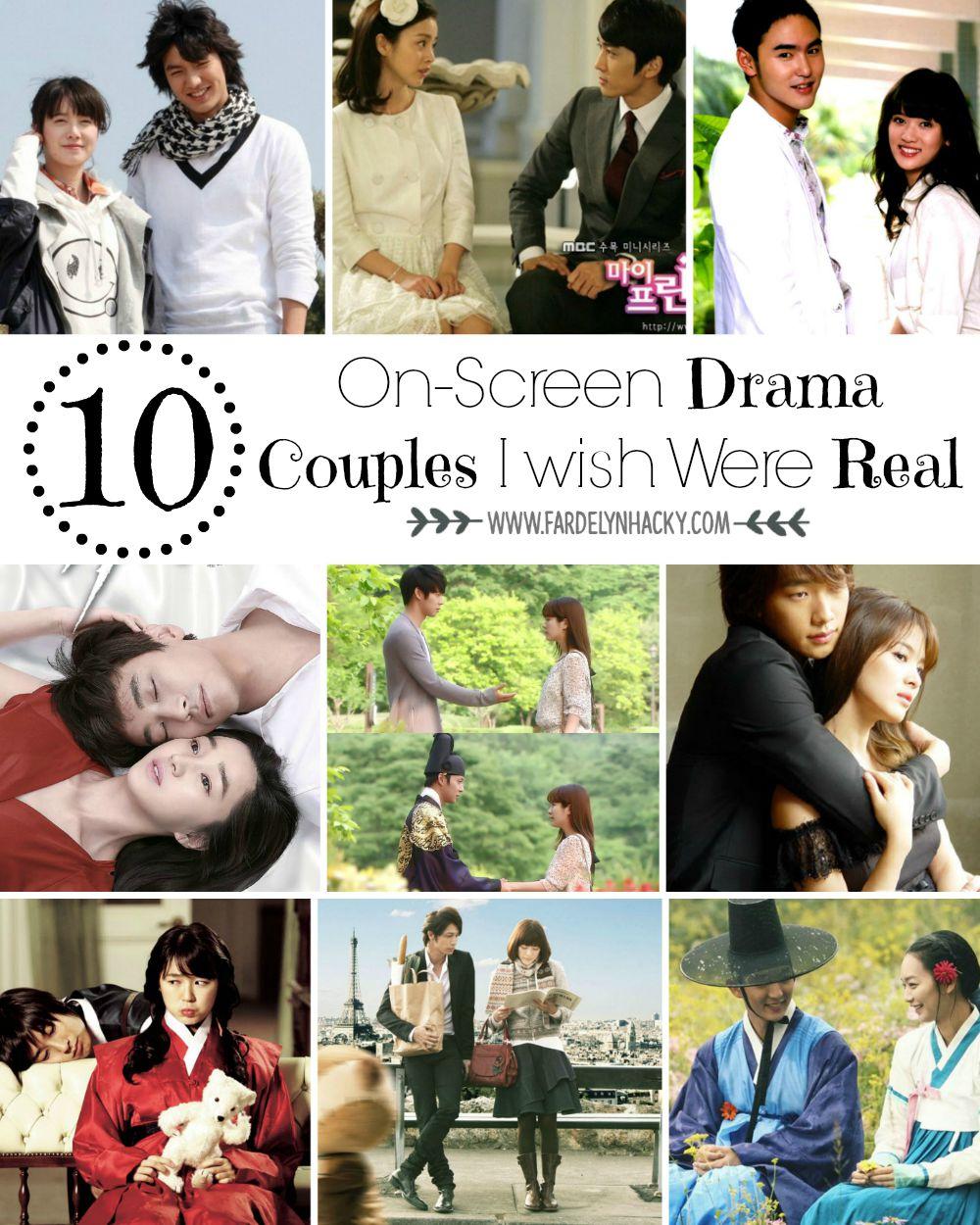 Pasangan Drama Asia Terbaik, Pasangan Drama Korea Terbaik