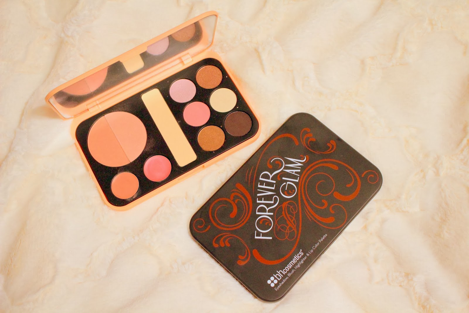 BH Cosmetics, BH Cosmetics Forever Nude Palette, BH Cosmetics Forever Glam Palette