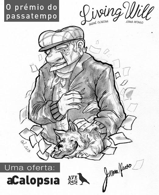 Querem ganhar um concept sketch da Joana Afonso?
