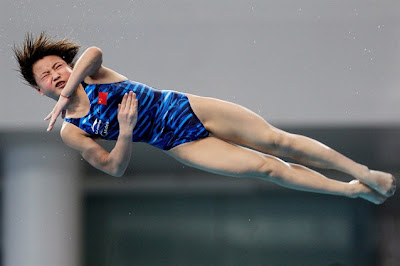 Olympic diver Hu Yudan of China