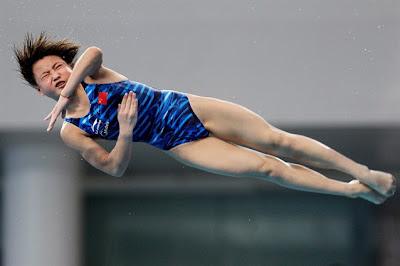 Olympic diver Hu Yudan of China