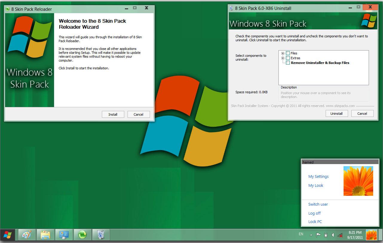 Free Download Windows 8 Ultimate Skin Pack