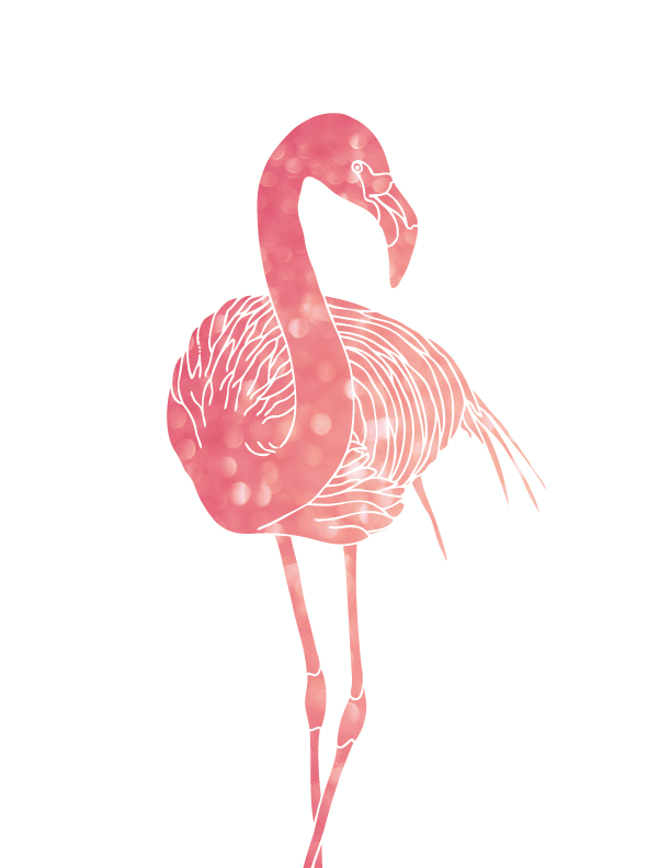 graphic regarding Flamingo Printable named Absolutely free purple flamingo printables down load this kind of artwork