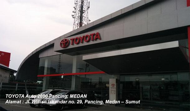 Harga TOYOTA Auto2000 Pancing, MEDAN, Sumatera Utara