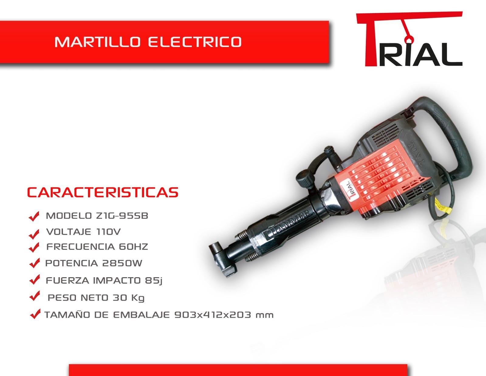 Trial comercializadora s a s de arkitectura - Martillo cincelador electrico ...