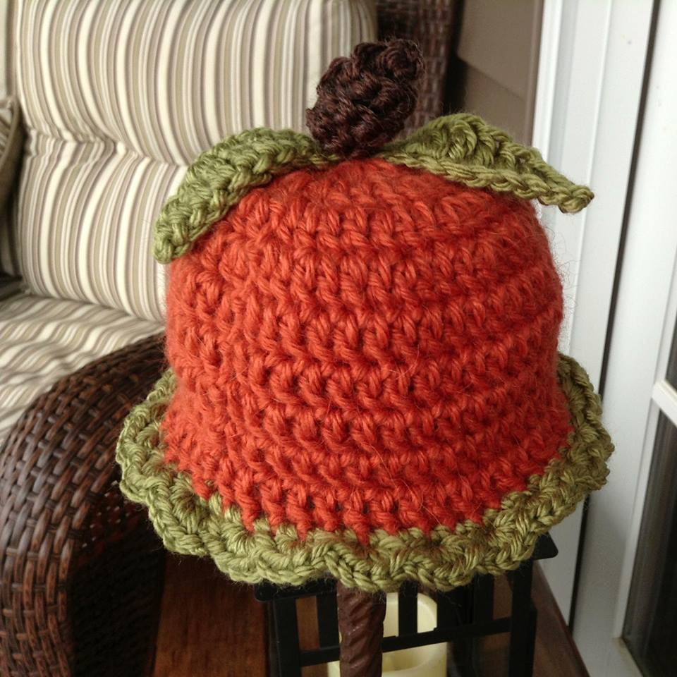 Free Pattern Crochet Pumpkin Hat : Northern Girl Stampers Corner of Creativity: PUMPKIN ...