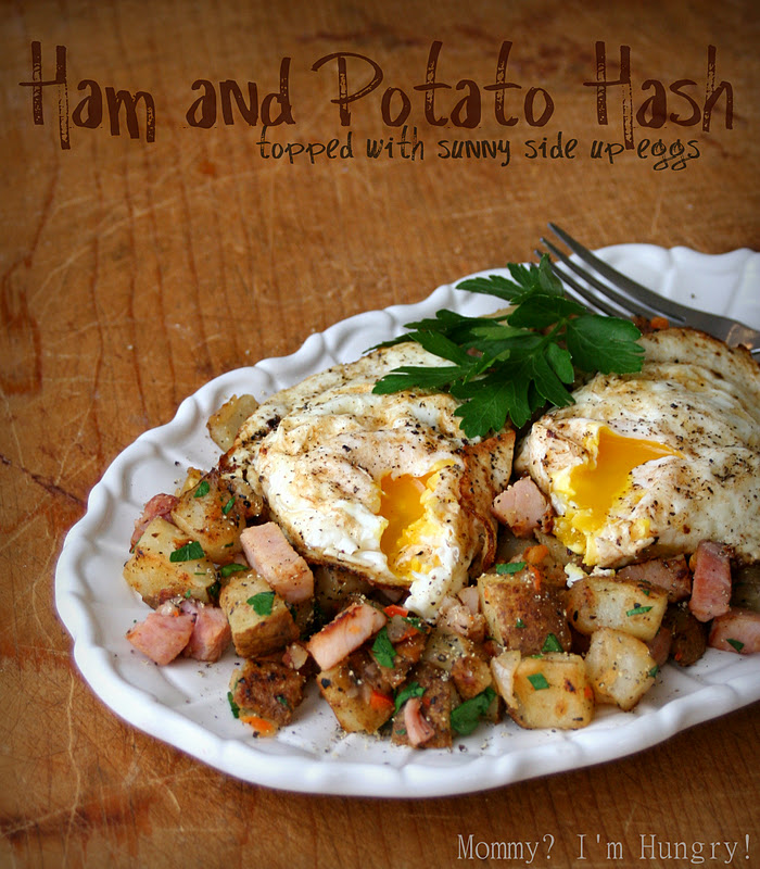 MIH Recipe Blog: Ham and Potato Hash with Eggs