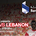Oman V Lebanon tonight, and the Eurovision results