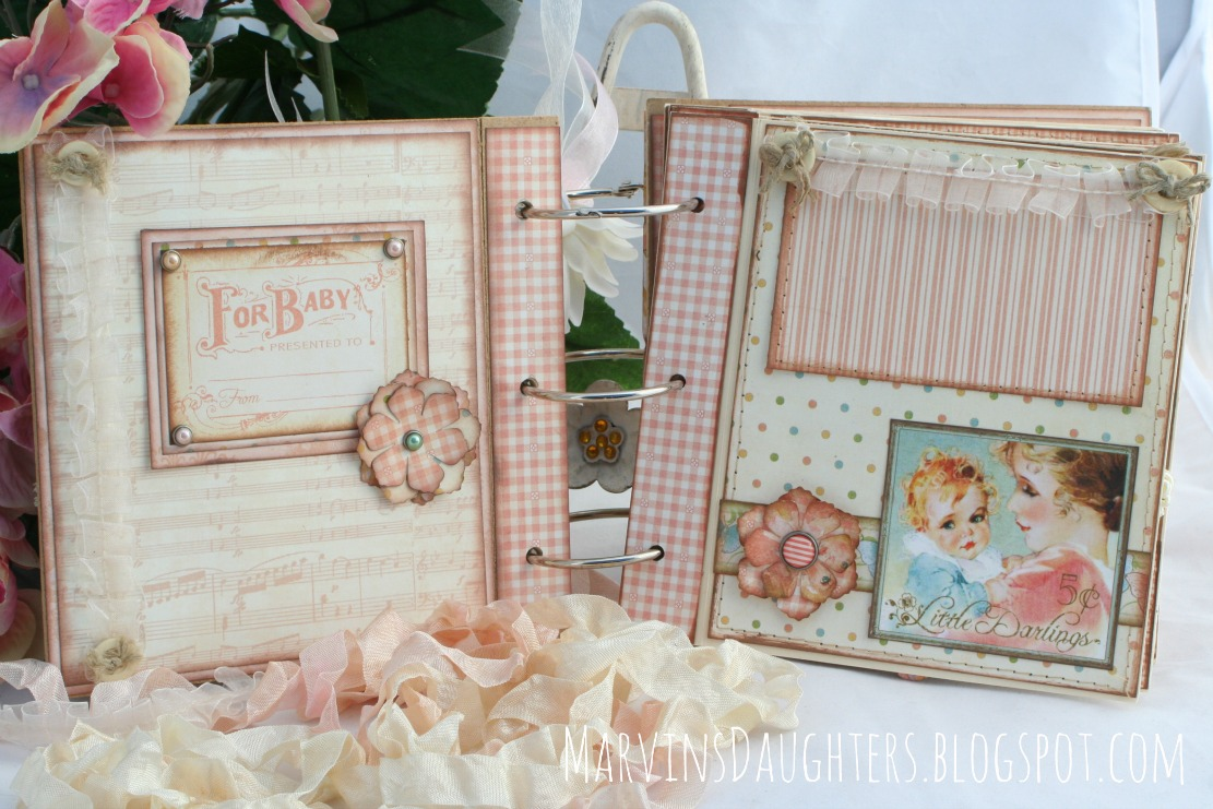 marvinsdaughters  vintage baby girl book