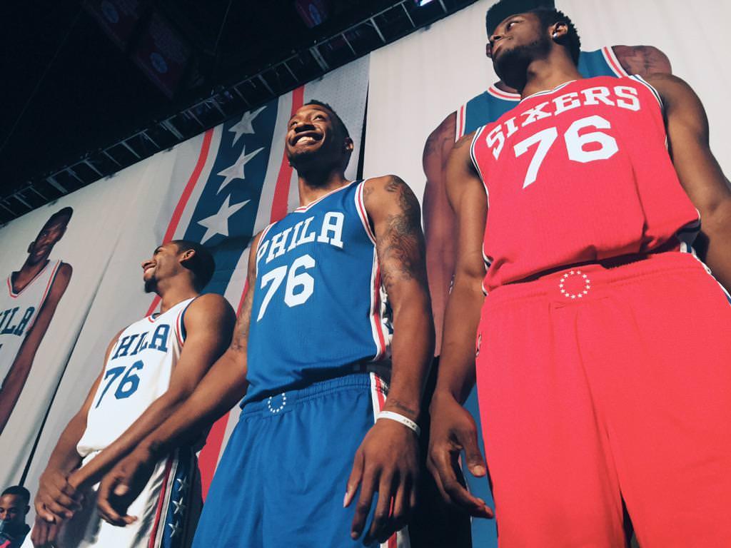 Philadelphia 76ers Rebranded Jerseys and Logos