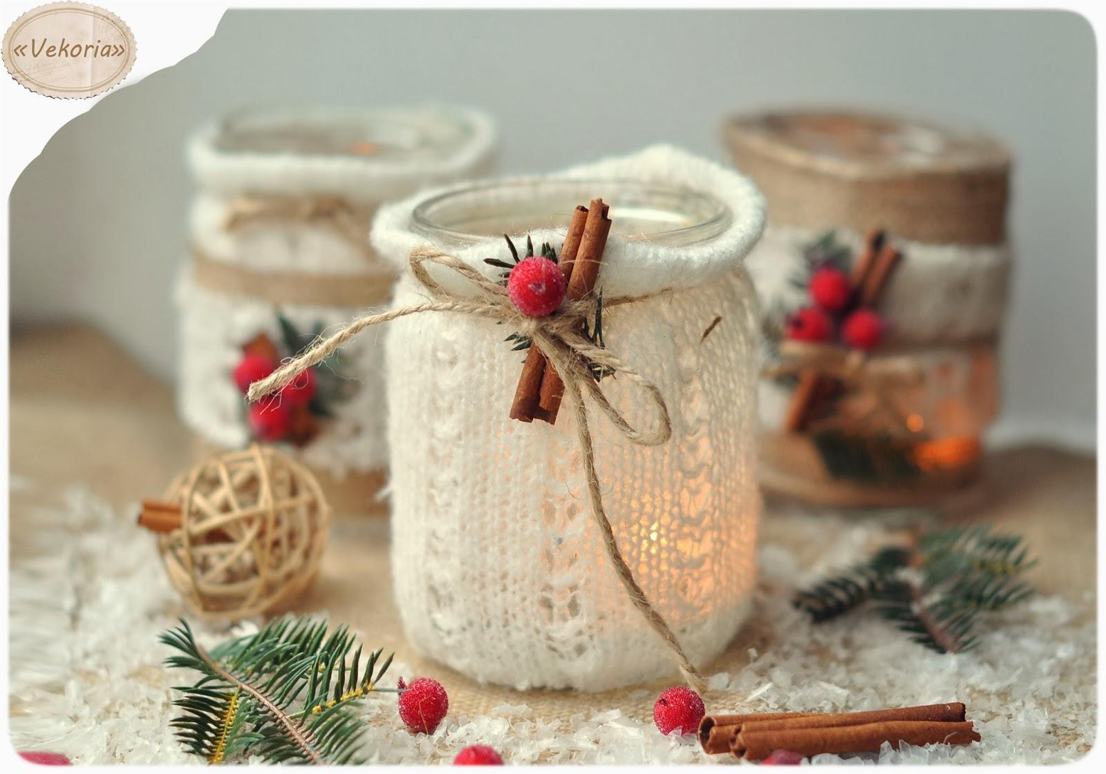 Красивые новогодние вещи своими руками