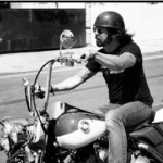 Dave Grohl celeb on motorcycles