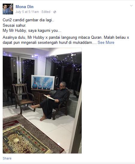My Hubby Tak Pandai Baca Al-Quran