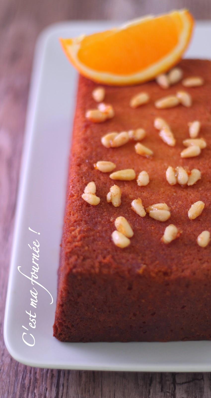 Le cake aux agrumes Michalak