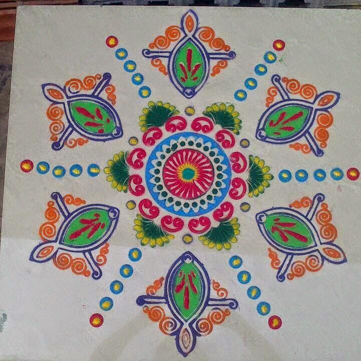 Yojna Kalaskar Kolam Designs 12