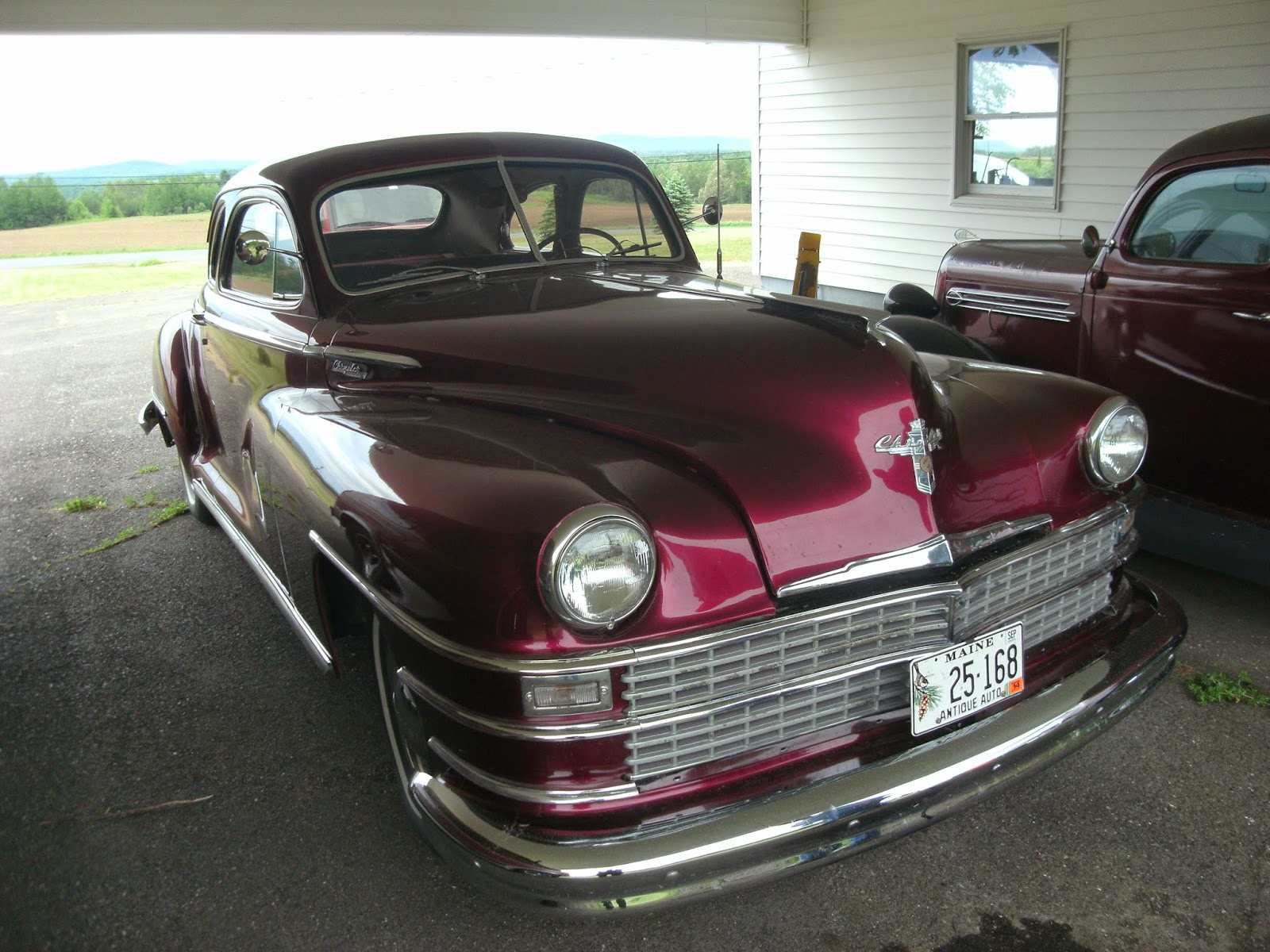 CARHUNTER : A GREAT COLLECTION UP IN MAINE