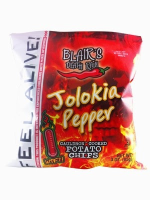 ghost pepper jolokia potato chips