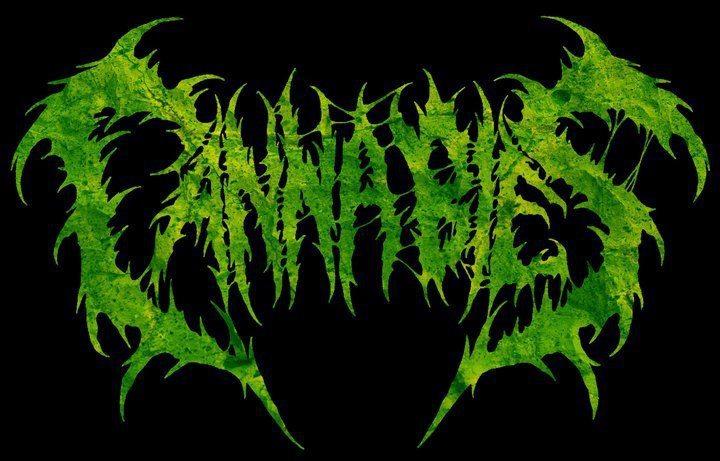 Cannabies Band Death Metal Ujung Berung - Bandung Indonesia Logo Artwork Wallpaper