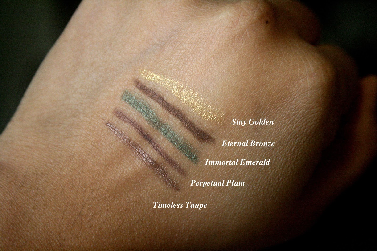 bareminerals afternoon delights lasting line eyeliner set swatches