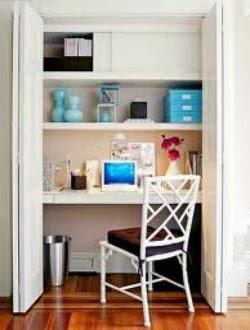 consigli per la casa e l' arredamento: come creare un angolo ... - Idee Angolo Studio In Soggiorno 2