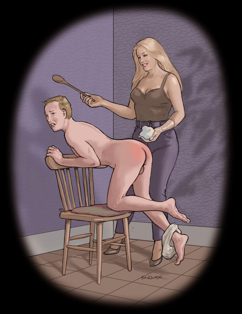 femdom bondage spanken