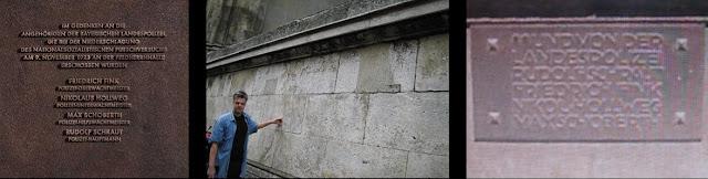 统帅堂(Feldherrnhalle)是德国慕尼黑的一个凉廊,兴建于1841年到1844年,位于路德维希大街南端的音乐厅广场,模仿了佛罗伦萨的佣兵凉廊。  1923年11月9日上午,在统帅堂发生了巴伐利亚警察与希特勒的追随者之间的对抗。警察责令停止非法组织的游行,但是游行者继续向前,警察感到威胁,并且开火。四名警察和十六名游行者死亡,多人受伤,其中包括赫尔曼·戈林。结果,希特勒被逮捕并判处徒刑。这是纳粹试图接管巴伐利亚的努力的一部分,通常称为啤酒馆暴动。  统帅堂的形象也出现在纳粹党的血章(Blutorden)上。