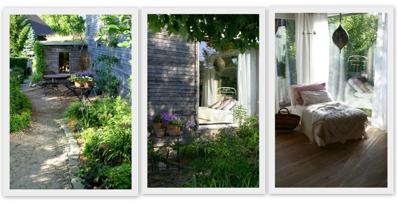 Wohnzimmerfenster Deko Garten Reise Durch Die Jahreszeiten