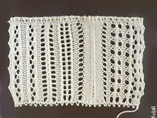 passap machine knitting lace