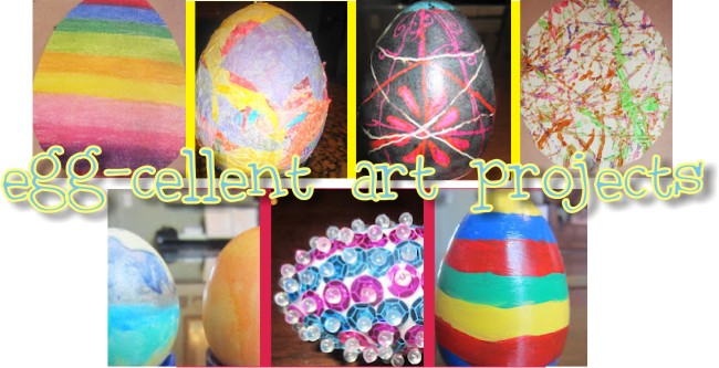 Teaching With TLC Easter Egg Art Ideas Galore