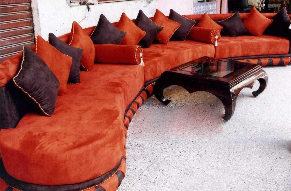 salon marocain tapissier s27 moderne decoration 2012 - Salons Moderne En Velours