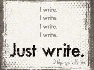 why write keynote 062013%5B1%5D - Target practise?
