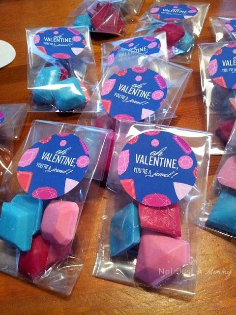 diamond gemstone candy favors