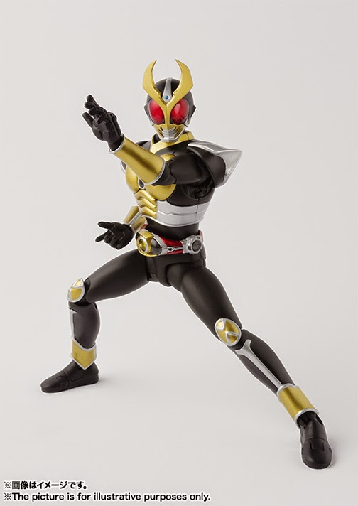 photo SH Figuarts Kamen Rider Agito Grand form Renewal official image 01